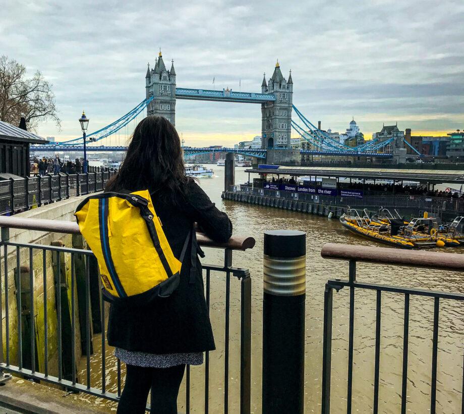 The Real Bandit London Bridge - BANDIT BACKPACK YELLOW