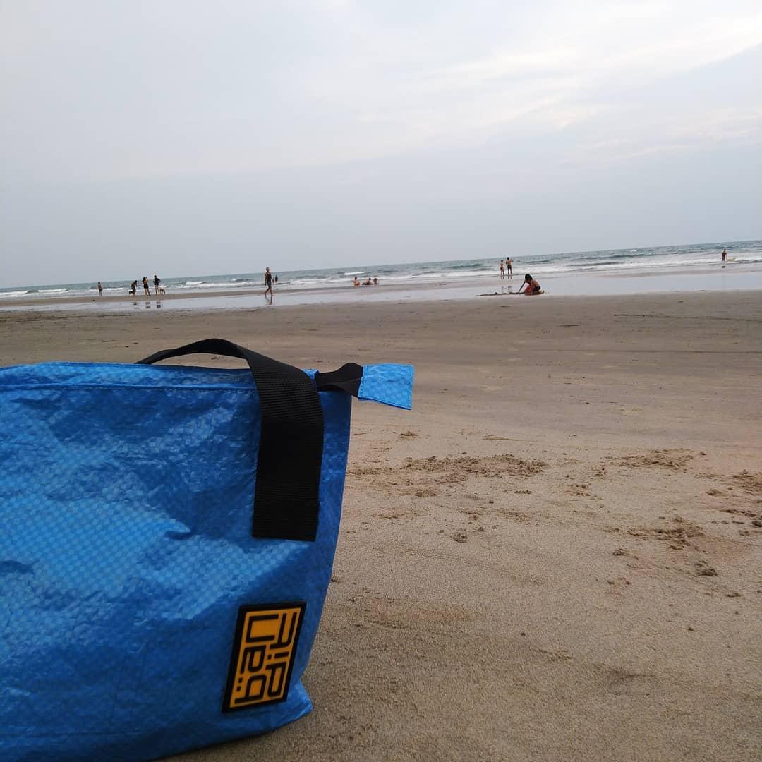 ashwem beach, goa, india